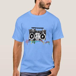 Boombox Einschmelzen T-Shirt