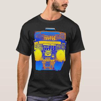 Boombox Farbe verblassen (mildern Sie) T-Shirt
