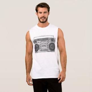 Boombox Kunst Ärmelloses Shirt