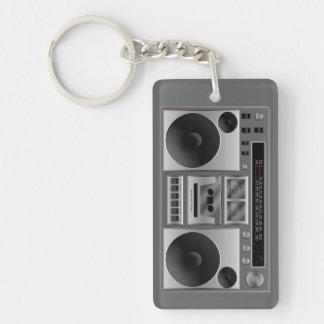 Boombox Radiographik Schlüsselanhängern