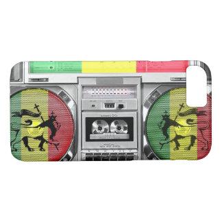 boombox Reggae iPhone 8/7 Hülle