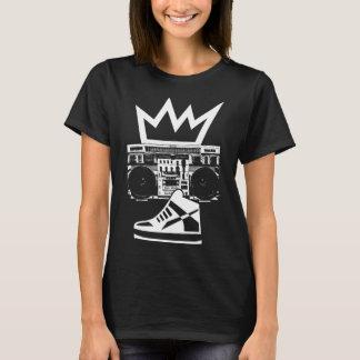 Boombox tritt König T-Shirt