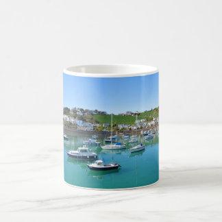 Boote in Gorey Hafen Kaffeetasse