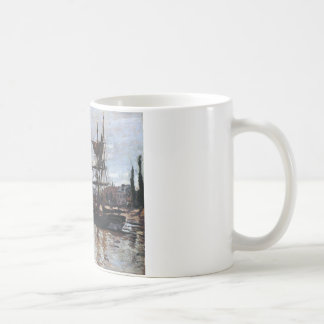 Boote in Rouen durch Claude Monet Tasse