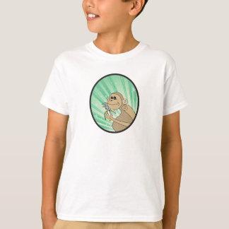 Boshafter Affe mit einem Schlüssel T-Shirt
