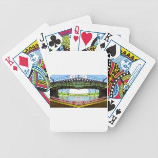 Boston-Bogenart Brücke Bicycle Spielkarten