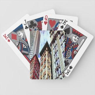 Boston-Gebäude Bicycle Spielkarten