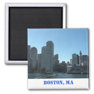 Boston, MA-Magnet Quadratischer Magnet