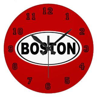 Boston Massachusetts Große Wanduhr