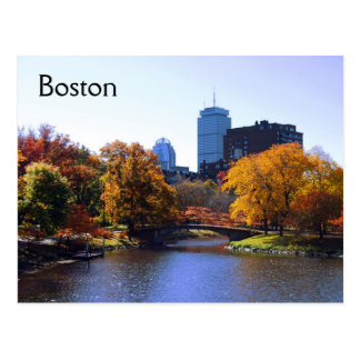 Boston Postkarte
