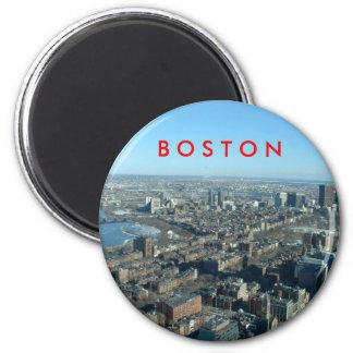 Boston Runder Magnet 5,1 Cm