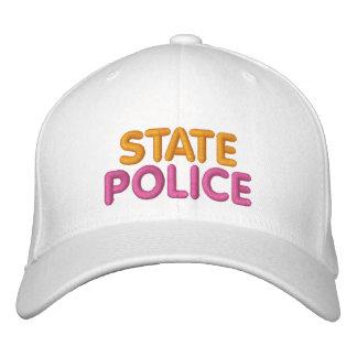 Boston-Staats-Polizei gestickter lustiger Hut Bestickte Baseballmützen