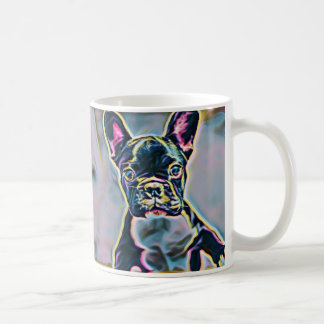 Boston-Terrier-Neon-Tasse Tasse