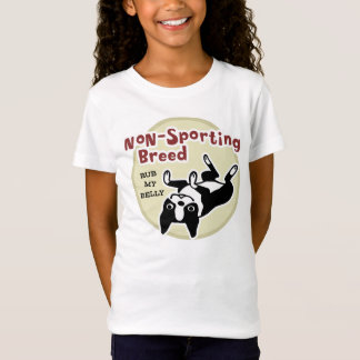 """Boston Terrier """"Nicht-Sportliche Zucht """" T-Shirt"""