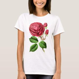 Botanische Tee-Rose T-Shirt