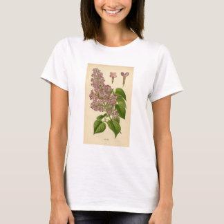 Botanischer Druck - Flieder T-Shirt
