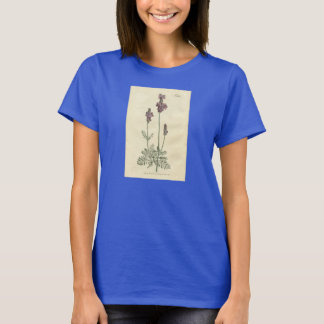 Botanischer Druck - Lavendel T-Shirt