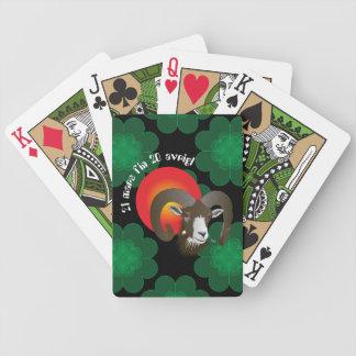 Botsch 21 mars fin 20 avrigl Gieu da chartas Bicycle Spielkarten