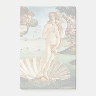 BOTTICELLI - Die Geburt von Venus 1483 Post-it Klebezettel