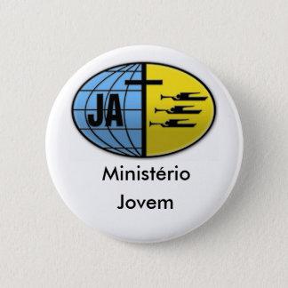 Botton Junges Ministerium Runder Button 5,7 Cm