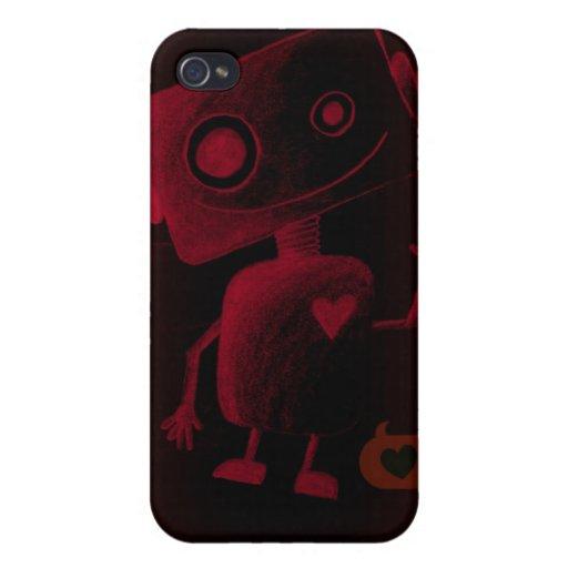 Botty im Rot iPhone 4 Etuis