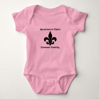 Boudreauxs Cajun Coonass, das Baby-Strampler kocht Baby Strampler