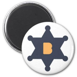 Bounty0x Magnet Runder Magnet 5,7 Cm