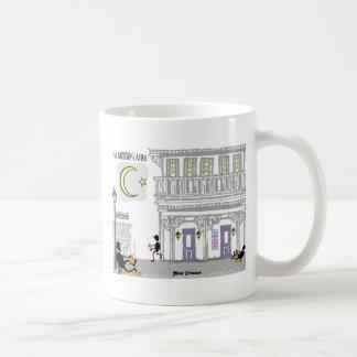 Bourbon-Straßen-Kater Tasse