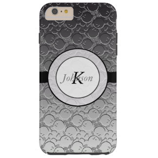 Bowlings-Ball Chrom Blick-Muster Personalizable Tough iPhone 6 Plus Hülle