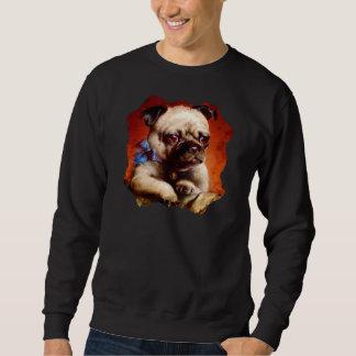 Bowtie Mops-Sweatshirt Sweatshirt