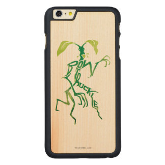 Bowtruckle Typografie-Grafik Carved® Maple iPhone 6 Plus Hülle