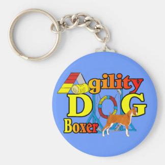 Boxer-Agility Schlüsselanhänger