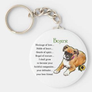 Boxer-Geschenke Schlüsselanhänger