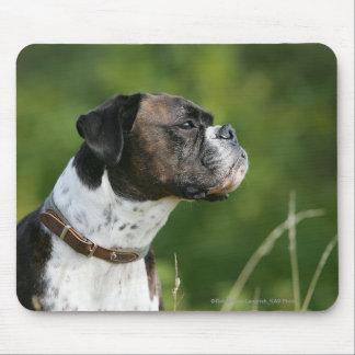 Boxer-Hundeprofil Mauspads
