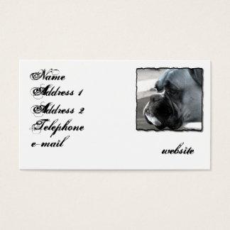 Boxer-HundeVisitenkarte Visitenkarten