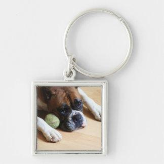 Boxer-Hundkeychain Schlüsselanhänger