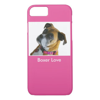 Boxer-Liebe iPhone Fall iPhone 7 Hülle