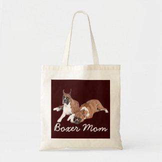 Boxer-Mamma-Taschen-Tasche
