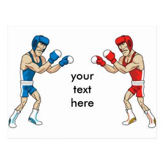 Boxer Postkarten