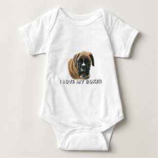 Boxer-Säuglings-Strampler Babybody