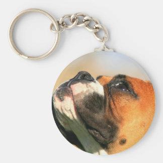 Boxer-Welpe keychain Schlüsselanhänger