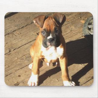 Boxer-Welpe mousepad