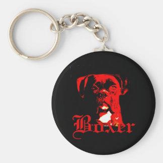 Boxerhundkeychain Schlüsselanhänger