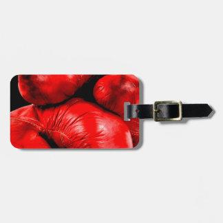 Boxhandschuh-Boxer-Schmutz-Art Gepäckanhänger