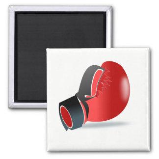 Boxhandschuh Quadratischer Magnet