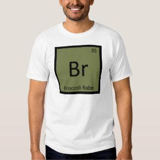 Br - Brokkoli Rabe Gemüsechemie-Symbol Tshirt