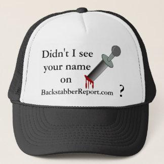 BR nicht sah ich… Hut Truckerkappe