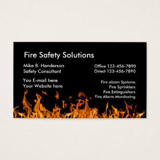 Brandschutz-Produkte Visitenkarten