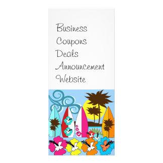 Brandungs-Geschäfts-surfende Individuelle Werbe Karte