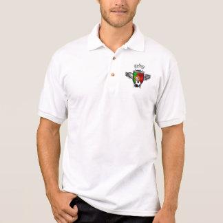 Brasão DA Bandeira Portuguesa - Estilo Retro Polo Shirt